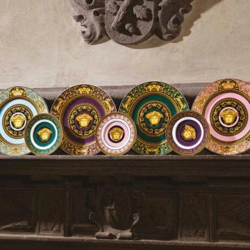 Rosenthal Versace Medusa Colours