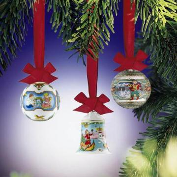Hutschenreuther Limited christmas items of the past years