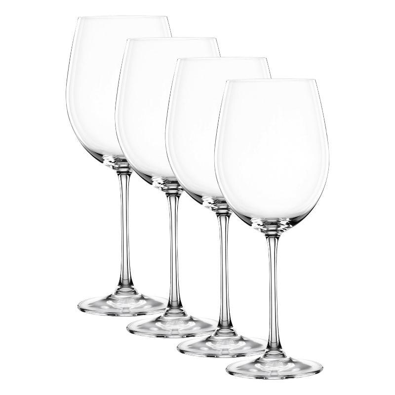 Nachtmann Vivendi Premium - Lead Crystal Bordeaux Pokal Glas Set 4-tlg. 763 ml | Küche und Esszimmer > Besteck und Geschirr > Gläser | Nachtmann
