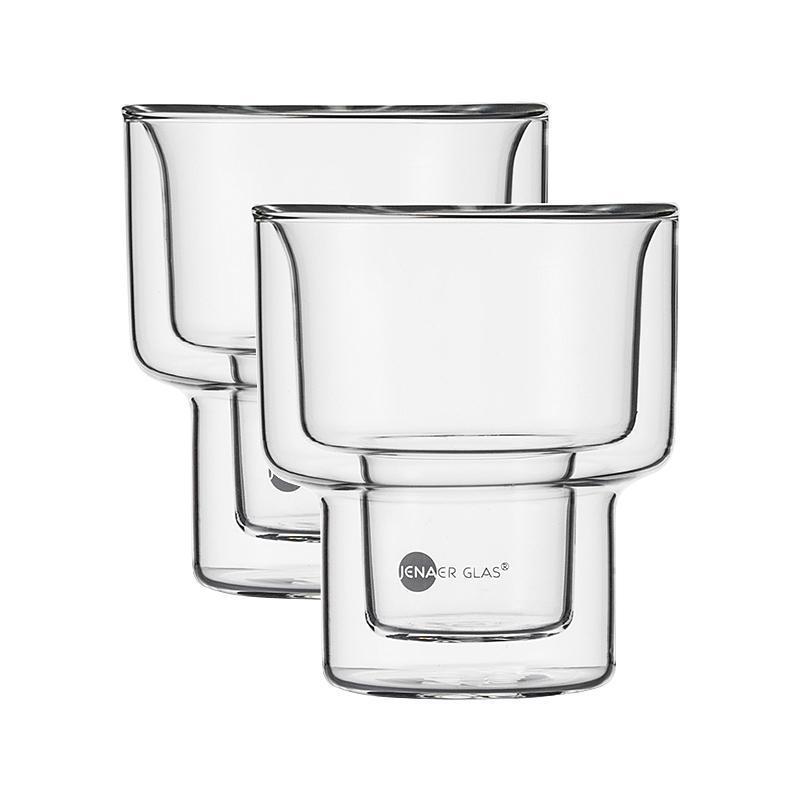 Jenaer Glas Hot n Cool Becher Match M 2er Set 200 ml / h: 91 mm | Küche und Esszimmer > Besteck und Geschirr > Gläser | Jenaer Glas