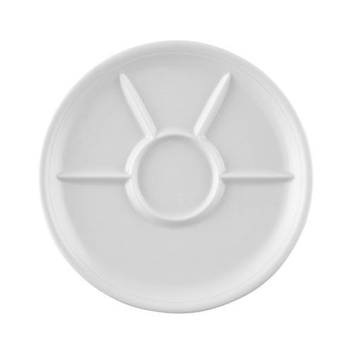 Thomas Trend weiß Fondue/Grillteller 27cm | Küche und Esszimmer > Küchengeräte > Fondue | Weiß | Thomas