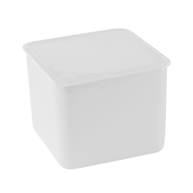 Arzberg Küchenfreunde / Form 2006 Frischedosen Schale quadratisch hoch mit Deckel transparent 15 x 15 cm / 1,7 L | Küche und Esszimmer > Aufbewahrung | Transparent | Arzberg