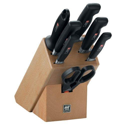 Zwilling Vier Sterne Messerblock inklusive Messer 8tlg. | Küche und Esszimmer > Küchen-Zubehör > Halter und Haken | Zwilling