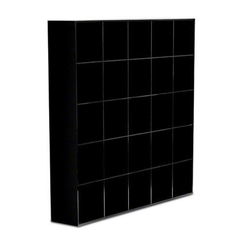 Rosenthal Studio-line City Cups - Zubehör Setzkasten für 25 Tassen - City Cups ca. 62,5x62,5x11,5 cm / Kunststoff schwarz
