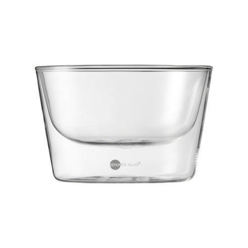 Jenaer Glas Gourmet Food & Drinks - Hot n Cool Schale Primo 2er Set 490 ml / h: 86 mm