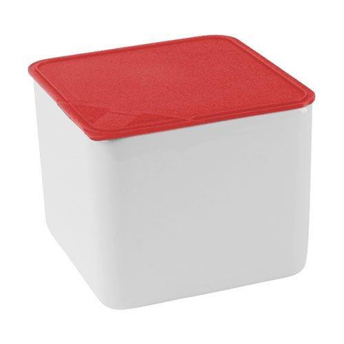 Arzberg Küchenfreunde / Form 2006 Frischedosen Schale quadratisch hoch mit Deckel rot 15 x 15 cm / 1|7 L | Küche und Esszimmer > Aufbewahrung > Vorratsdosen | Arzberg
