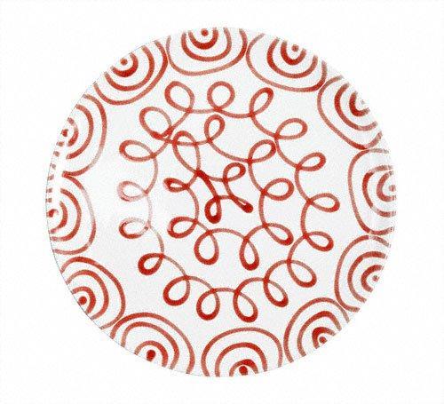 Gmundner Keramik Rotgeflammt Speiseteller Cup d: 28 cm / h: 2,6 cm | Küche und Esszimmer > Besteck und Geschirr > Geschirr | Keramik | Gmundner Keramik