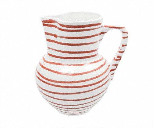 Gmundner Keramik Rotgeflammt Krug Wiener Form 1 L / h: 8,8 cm | Küche und Esszimmer > Besteck und Geschirr > Karaffen | Gmundner Keramik
