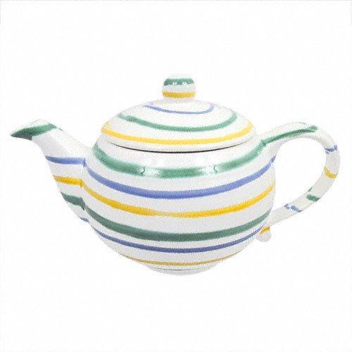 Gmundner Keramik Buntgeflammt Teekanne glatt 1,5 l   Küche und Esszimmer > Kaffee und Tee   Gmundner Keramik