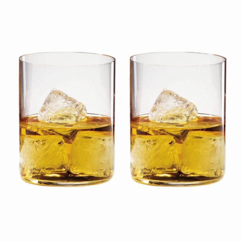 Riedel Gläser H2O Classic Bar Whisky / Wasser Gläser 2er Set h: 100 mm / 430 ml   Küche und Esszimmer > Besteck und Geschirr > Gläser   Riedel