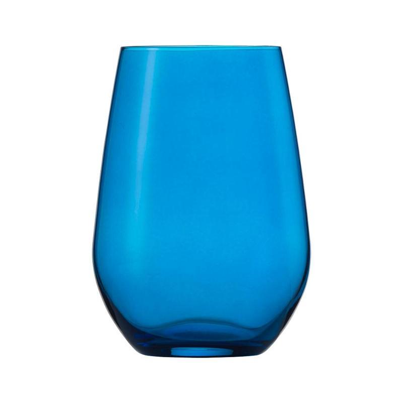 Schott Zwiesel Viña Spots Universalbecher / Longdrink Glas blau 566 ml | Küche und Esszimmer > Besteck und Geschirr > Gläser | Schott Zwiesel