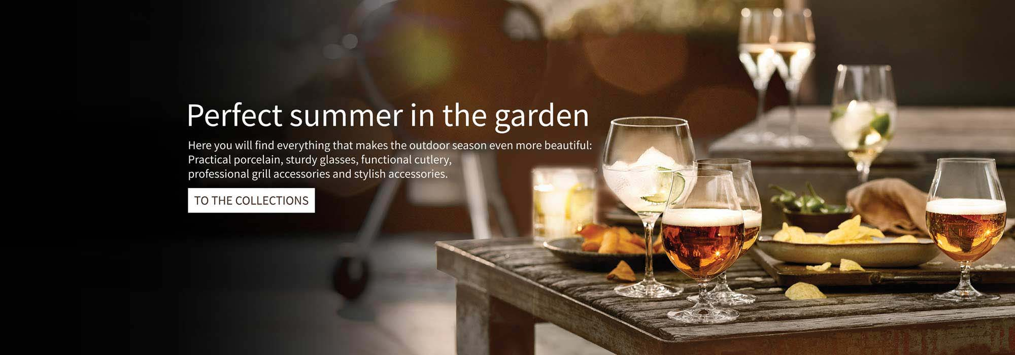 Perfect summer in the garden